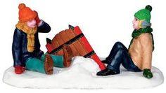 Sleigh Wreck - Lemax Christmas Village Figurine U$5.99 - 2013