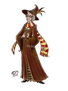 Roby's fan art Blog • Minerva McGonagall