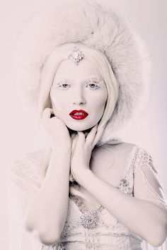 Fabulous x snow queen x hot lips #fashion