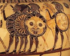 Battle of Marathon: The Decisive Clash That Saved Ancient Greece Ancient Greek Art, Ancient Aliens, Ancient Greece, Carthage, Greek Shield, Greek Warrior, Greek Pottery, Greek History, Ancient Artifacts