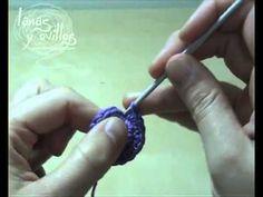 Tutorial Tejido en Espiral Crochet