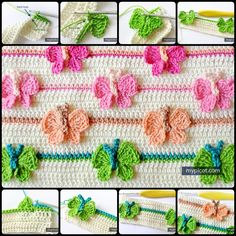 Crochet Butterfly Stitch with free pattern