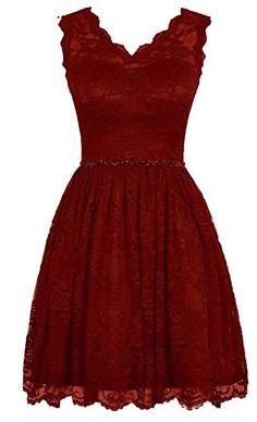 Endofjune Elegant Short V Neck Lace Flower Formal Bridesmaid Dress US-0 Custom Made Color Endofjune http://www.amazon.com/dp/B015H7SRY6/ref=cm_sw_r_pi_dp_JghPwb1X7V1GA