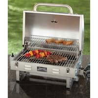 Smoke Hollow Stainless Steel Tabletop Grill Best Charcoal, Charcoal Grill, Plancha Grill, Table Top Grill, Cooking Stores, Propane Gas Grill, Gas Smoker, Grill Grates, Portable Grill