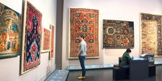 The new carpet galleries at the Museum of Islamic Art in Berlin contextualise the collections while keeping its woven masterpieces centre stage. Berlin Museum, Carpet Installation, Prayer Rug, New Carpet, Center Stage, Sacred Art, The Conjuring, 16th Century, Islamic Art