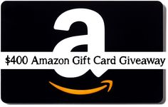 A Christmas Giveaway: $400 Amazon Gift Card