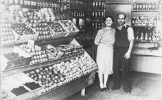 Antonio and Terzita in the Lopez shop, c. 1937  In 1934 Antonio and Terzita Lopez opened a fruit and vegetable shop at 866 Military Road, ...