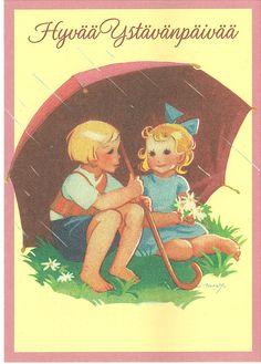 38523 Martta Wendelin | par marja2006-offers Book Illustration, Vintage Art, Martini, Fairytale, Valentines Day, German, Vintage Fashion, Children, Artwork