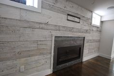 industrial fireplace surround - Google Search