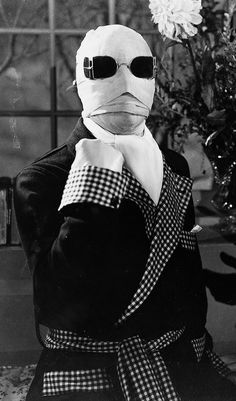 Claude Rains / Jack Griffin - The Invisible Man, 1933