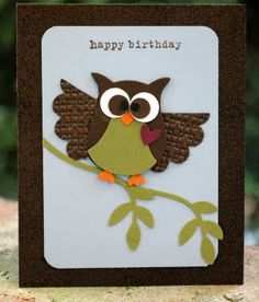 Kimber Kreations: Hope your birthday is a real hoot!