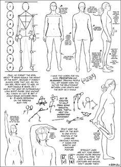 Basic Body Tutorial by DerSketchie on DeviantArt