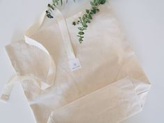 Dans Le Sac Bread Bag With Eucalyptus from Instagram
