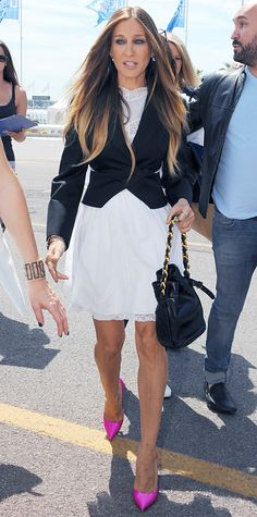Look of the Day - June 16, 2014 - Sarah Jessica Parker in Ralph Lauren from #InStyle
