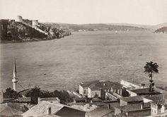 1950'ler, Kandilli sırtlarından Boğaziçi panoraması