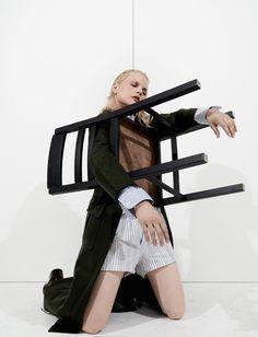 Pantomime – Guinevere Van Seenus by Alessio Bolzoni for Numéro Magazine