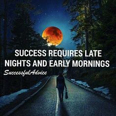 You want even more motivation? Follow my friend @successfuladvice.  Don't let anybody tell you it's going to be easy because especially in the beginning you have to put in a lot. Late nights and early mornings will be the way to go but it will be more than worth it. Double tap if you agree. @marcomoeschter.com