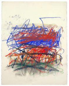 joan mitchell (1925-1992) | pastel | pastel on paper | 1991  cheim & read | new york NY