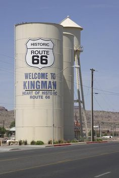 Kingman AZ photo - Touring parts of route 66 Route 66 Sign, Old Route 66, Route 66 Road Trip, Historic Route 66, Travel Route, Travel Usa, Travel Oklahoma, Arizona, Roadside Attractions