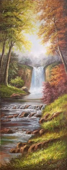 "American style Landscape painting high quality Sitting-room Wall Home oil painting handpainted on canvas Art Decor""Creek""Unframed-93 by OilPaintingArt *Materials: Canvas *Brand new without frame *Size:70x180CM(27.6""x70.9"")-$390*Eco-friendly/Green product *MOQ: 1 Pieces *OEM designs and orders are welcome *Ideal for decoration purposes *Customized logos and packaging ways are welcomeif you want other sizes please contact me. There is no frame. Contact me if you need it framed! Tracking number…"