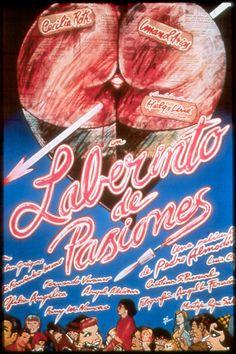 Spanish Poster of »Laberinto de Pasiones«  Pedro Almodóvar.