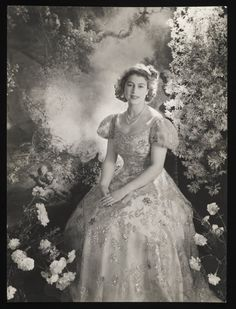Princess Elizabeth at Buckingham Palace by Cecil Beaton copyright V&A images
