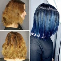 #COLORCRUSH: DENIM HAIR!  Proof positive that color inspiration can be found anywhere, the #denimhair trend appeared on Instagram last fall…and returns for September 2017!