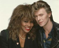 Tina and David. Two amazing icons.