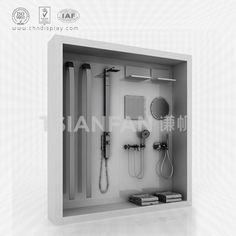 Tsianfan Industrial & Trading Co.,Ltd design and manufacture Faucet Sample Showroom, faucet displays, sample showroom. Morris Homes, Bathroom Hooks, Showroom, Faucet, Door Handles, Industrial, Display, Modern, Walls