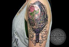 Beauty And The Beast Mirror Tattoo 116142fd970ae92d29a515877fbd29af jpg