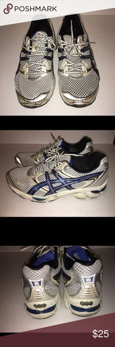 Men's Asics IGS Running Shoes Shoes in good condition but do need a good cleaning! ***THIS ITEM CAN'T BE PURCHASED IN A BUNDLE*** Asics Shoes Athletic Shoes