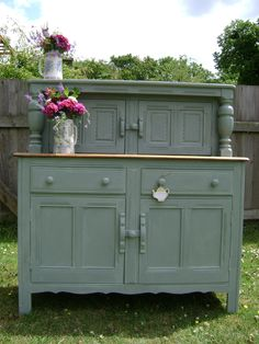 repainting side board this color . . .
