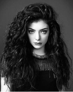 lorde. The more I listen to her songs the more I like them.