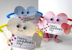 The Big Heart Little Person valentine is really simple to make and so sweet to give.