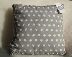 """Poduszka 40x40 """"Gwiazdki"""" połączenie oryginalnego minky Shannon Fabrics oraz bawełny premium :)"""