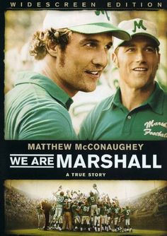 We Are Marshall (2006) - story depicting aftermath of 1970 plane crash killing entire Marshall University (Huntington,WV) football team