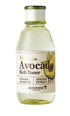 Skinfood Avocado Rich Toner 160ml ** Not a traditional toner, I use it as a hydration booster for days I use AHAs/BHAs. This has a more serum-like texture to it but soaks into the skin nicely leaving it soft and supple.