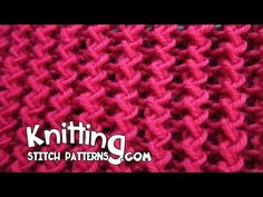 Watch video to learn how to knit the Zig Zag Rib stitch. ++ Detailed written instructions: ... ++ Zig Zag scarf pattern: ... If you have any. Stitch,