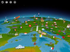 Barefoot World Atlas is an interactive 3D globe for iPad that invites children to explore the regions and countries of the world, discovering hundreds of fascinating features and immersing themselves in the rich wonders of our planet. {watch for it to go on sale- great but pricey!}