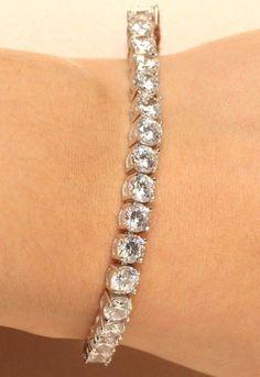 bangle-bracelets Size 18K Yellow Gold 9 inches IJ| SI 1.25 cttw Round-Cut-Diamond