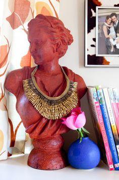 JEWELRY BUSTS // Organizing, Displaying | Erika Brechtel | Brand Stylist