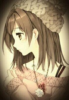 Anime qute girl