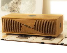 Items similar to HandMade Wooden Speaker on Etsy Wooden Speakers, Diy Speakers, Bluetooth Speakers, Radios, Waterproof Bluetooth Speaker, Circuit Design, Speaker Design, Wooden Cabinets, Boombox