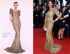 Rosario Dawson In Marchesa - 'Cleopatra' Cannes Film Festival Premiere - Red Carpet Fashion Awards