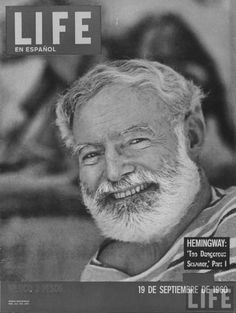 September 19, 1960. Spanish Edition Life Magazine. Ernest Hemingway.