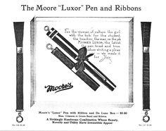 Moore's Luxor Pen & Ribbon