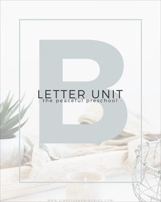 Letter B Unit with Simply Learning & The Peaceful Preschool ~ free printables to go along with the curriculum! Preschool Letter B, Letter Activities, Preschool Activities, Preschool Schedule, Preschool Curriculum, Homeschooling, Toddler Language Development, Simply Learning, Homeschool Supplies