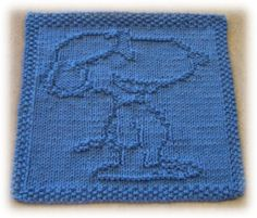Free Knitting Pattern - Dishcloths & Washcloths : Beagle Cloth Do 1st! :) If you follow the link @ bottom, you can also find a M washcloth knitting pattern!