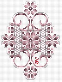 Cross Stitch Bird, Cross Stitch Designs, Cross Stitch Patterns, Thread Crochet, Crochet Stitches, Knit Crochet, Filet Crochet Charts, Crochet Diagram, Needlepoint Patterns
