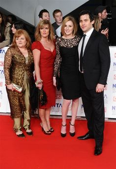 Whaaa? Downton Abbey's Mrs. Patmore, O'Brien (!!) Lady Edith Crawly and Thomas.  Ladies...makeup works.
